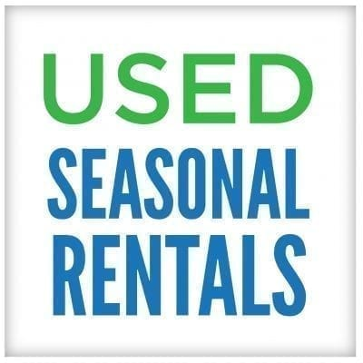 Used Seasonal Rentals